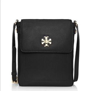 Tory Burch Mercer Book Bag Leather Crossbody LN